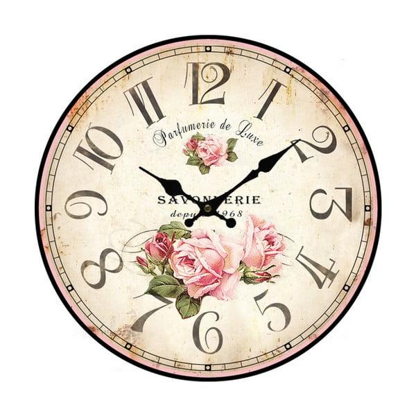 Duży zegar ścienny Bolzonella Rose