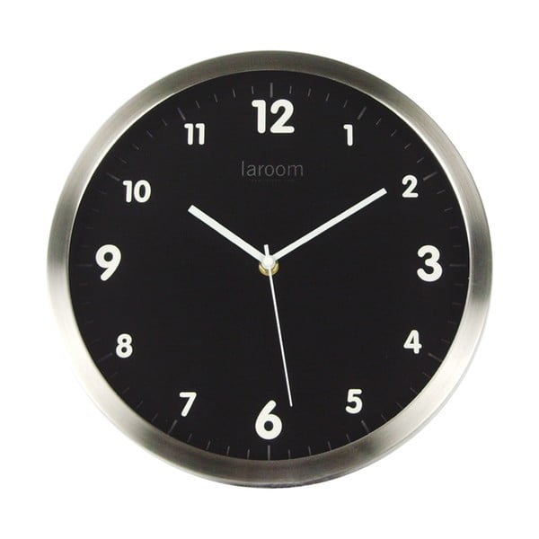 Zegar ścienny Minimal Black