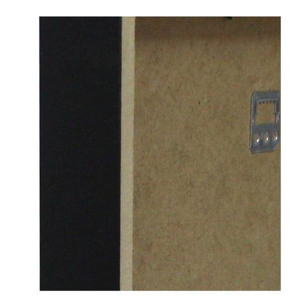 Obrazek w czarnej ramie Homemania Maps Boston, 32x42 cm