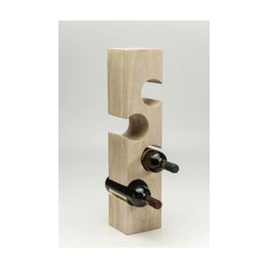 Stojak na 4 butelki wina Kare Design Puzzle