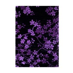 Wełniany dywan Rosono Lilac, 140x200 cm