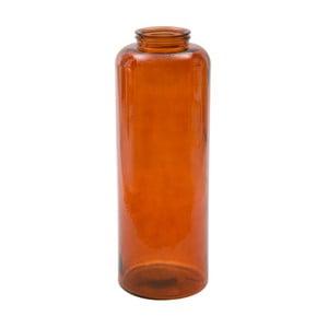 Czerwony wazon ze szkła z recyklingu Mauro Ferretti Put, wys.70cm