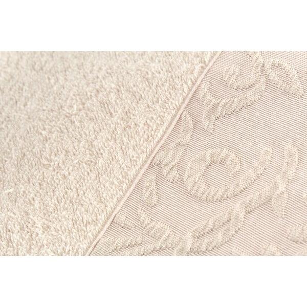 Komplet 2 ręczników Burumcuk Beige, 50x90 cm