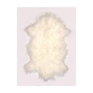 Kremowy, wełniany dywan z owczej skóry Auskin Torry, 60x80 cm