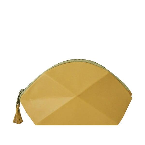 Kopertówka/kosmetyczka Pyramid, żółta