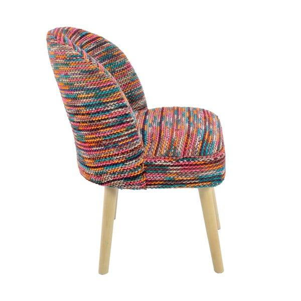 Fotel z materiałowym obiciem Multi Color