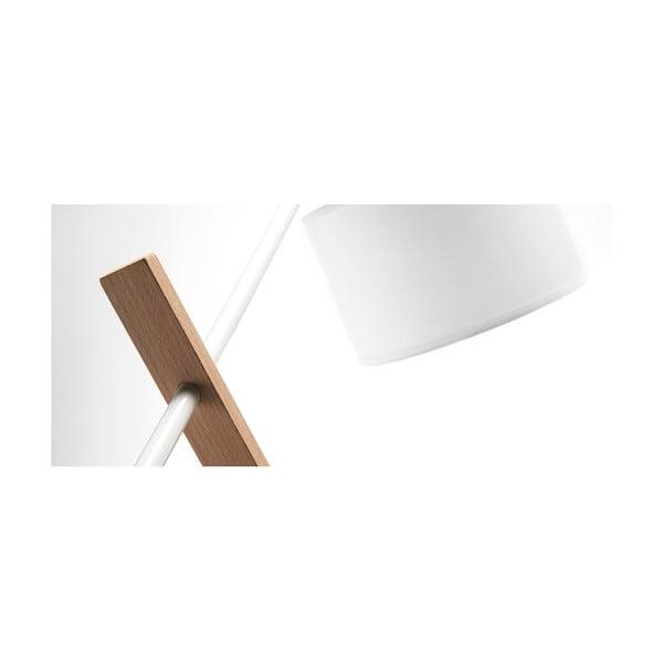 Biała lampa stołowa La Forma Izar