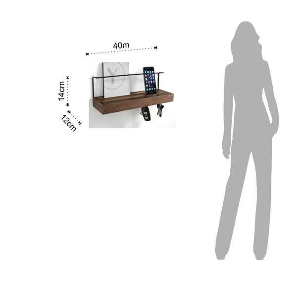 Wieszak na klucze Tomasucci Billa, 40x12x14 cm
