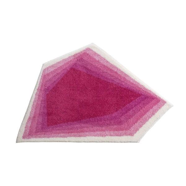 Dywanik łazienkowy Kolor My World XI 82x130 cm, różowy