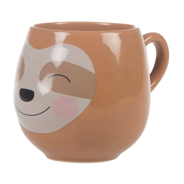Kubek Sass & Belle Treetop Friends Happy Sloth Mug