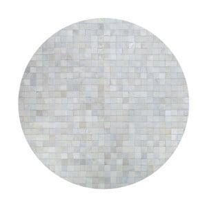 Skórzany dywan Pipsa Natural, ⌀ 160 cm