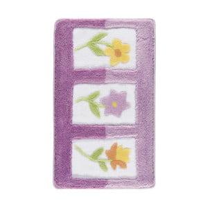 Fioletowy dywanik łazienkowy Confetti Bathmats Anjelik, 50x60 cm