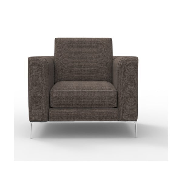 Fotel Miura Musa, pokrycie brązowe, tkanina