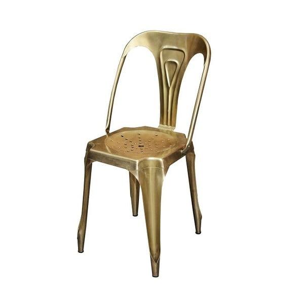 Krzesło Industry, mosiądzowe