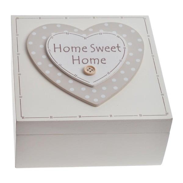 Drewniany pojemnik Home Sweet Home