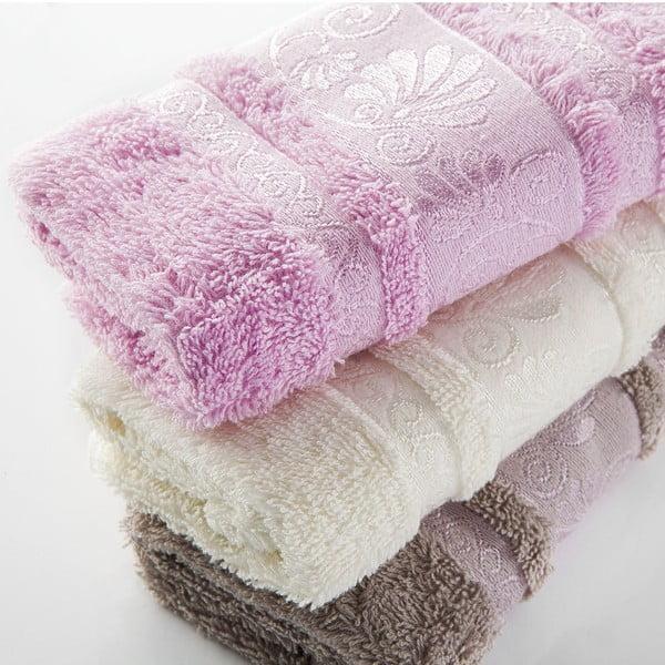 Zestaw 3 ręczników Carmen V1, 30x50 cm
