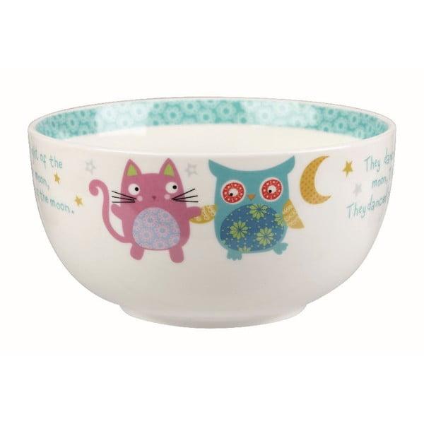 Zestaw śniadaniowy w walizce Owl & Cat