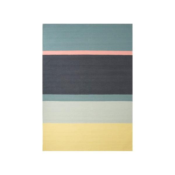 Wełniany dywan Lux Yellow, 170x240 cm