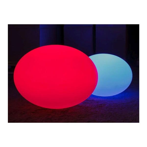 Nastrojowa lampa ogrodowa Flatball M, 50x36 cm