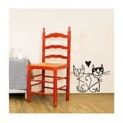 Naklejka Two cats 28x31 cm