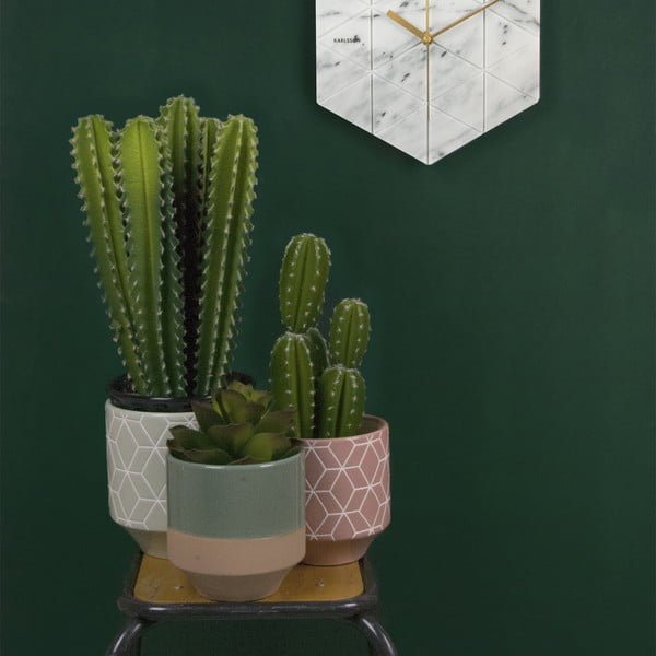 Doniczka Present Time Hexagon
