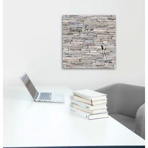Tablica magnetyczna Eurographic Stacked Stones, 50x50 cm