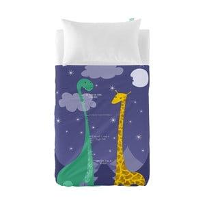 Zestaw prześcieradła i poszewki na poduszkę Little W My Friend, 120x180 cm