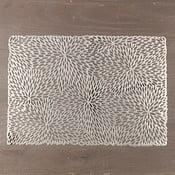 Zestaw 6 mat stołowych w kolorze srebrnym InArt Winter