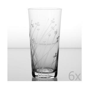 Zestaw 6 szklanek Len 480 ml