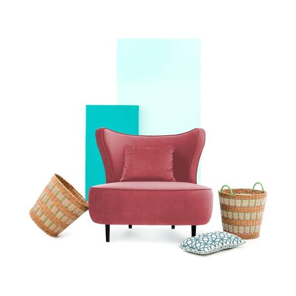 Czerwony fotel Vivonita Douglas Love Seat