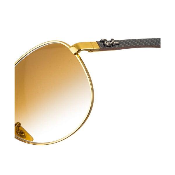 Okulary przeciwsłoneczne męskie Ray-Ban Luxur Gold