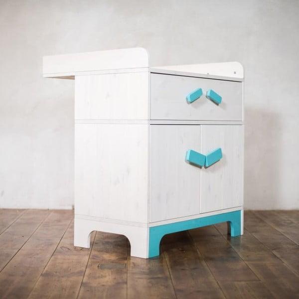 Przewijak i szafka Emo Blue