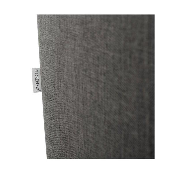 Narożnik rozkładany lewostronny Florenzzi Catalani Light Grey/Black