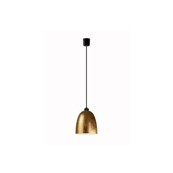 Złota lampa wisząca Sotto Luce AWA