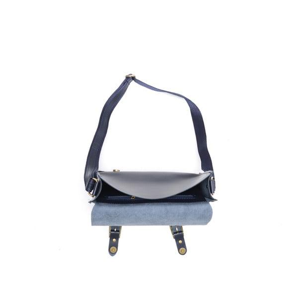 Skórzana torebka Renata Corsi 399 Bluscuro