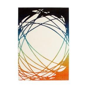 Dywan Lifestyle 111 white/orange, 120x170 cm
