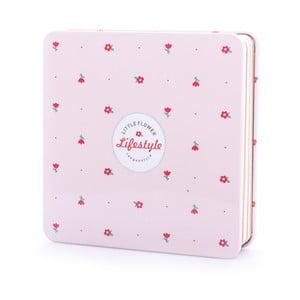 Blaszany notes Spring, różowy