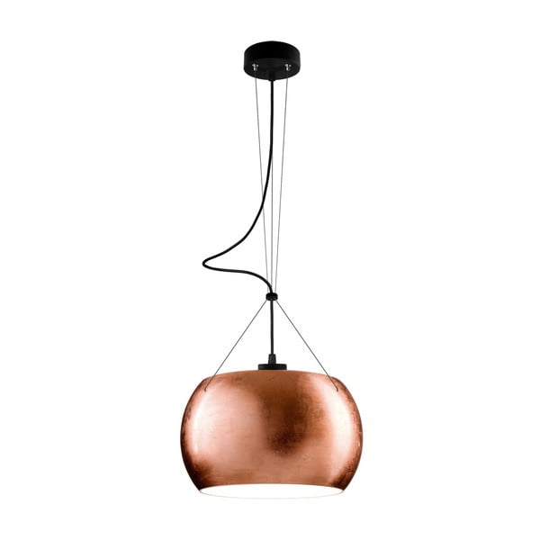 Lampa MOMO, copper/black