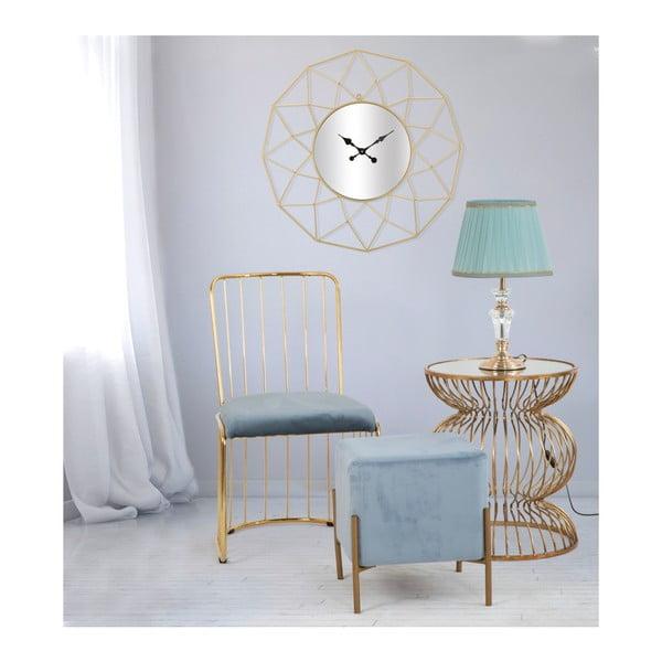 Zegar ścienny w złotym kolorze Mauro Ferretti Star, ⌀ 80 cm