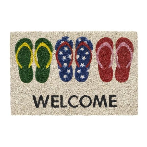 Wycieraczka Hamat Welcome Slippers, 40x60 cm