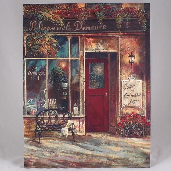 Obraz na płótnie Culinary School, 35x45