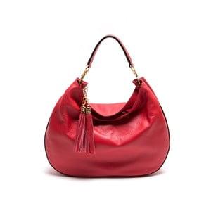 Skórzana torebka Isabella Rhea 1118, czerwona