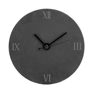 Łupkowy zegar Slate, 30 cm