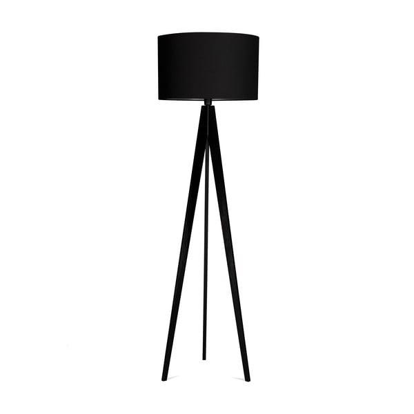 Lampa stojąca 4room Artist Black/Black, 125x42 cm