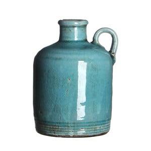 Wazon ceramiczny Sil Turquoise, 14x10 cm