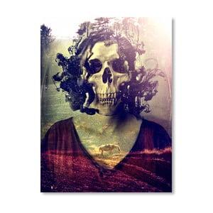 "Plakat autorski ""Miss Skull"""