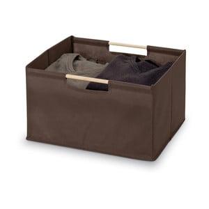 Brązowe pudełko Domopak Saket, dł.38cm