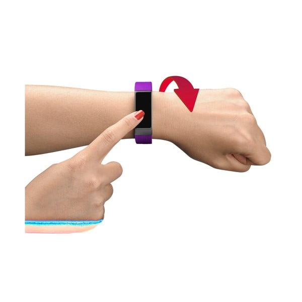 Opaska sportowa bluetooth z ekranem dotykowym CellularLine, różowo-czarna