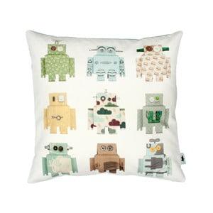 Poszewka bawełniana na poduszkę Studio Ditte Robot, 50x50 cm