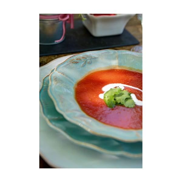 Ceramiczne naczynie do zapiekania Alentejo 36 cm, turkusowe